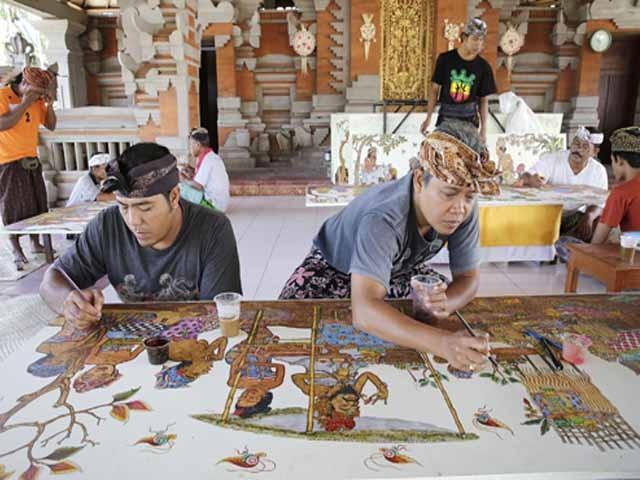 Batuan Village for Painting Art